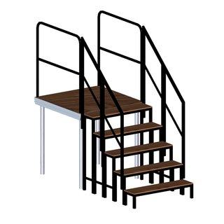 Prolyte Gelaender an Treppe